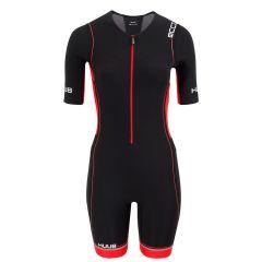 Стартовый костюм для триатлона женский с велопамперсом (трисьют) HUUB Core Long Trisuit