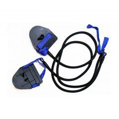 Тренажер для пловцов (эспандер) с лопатками Streda, тяжелая нагрузка