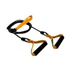 Тренажер для тренировки гребка с ручками Finis Dryland Cords Yellow (легкая степень нагрузки)