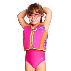 Жилет детский с поплавками для обучения плаванию ZOGGS Unicorn Swimsure Jacket Kids