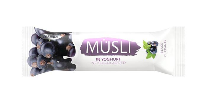 Батончик мюсли в йогурте Tekmar Yogurt, 30 грамм