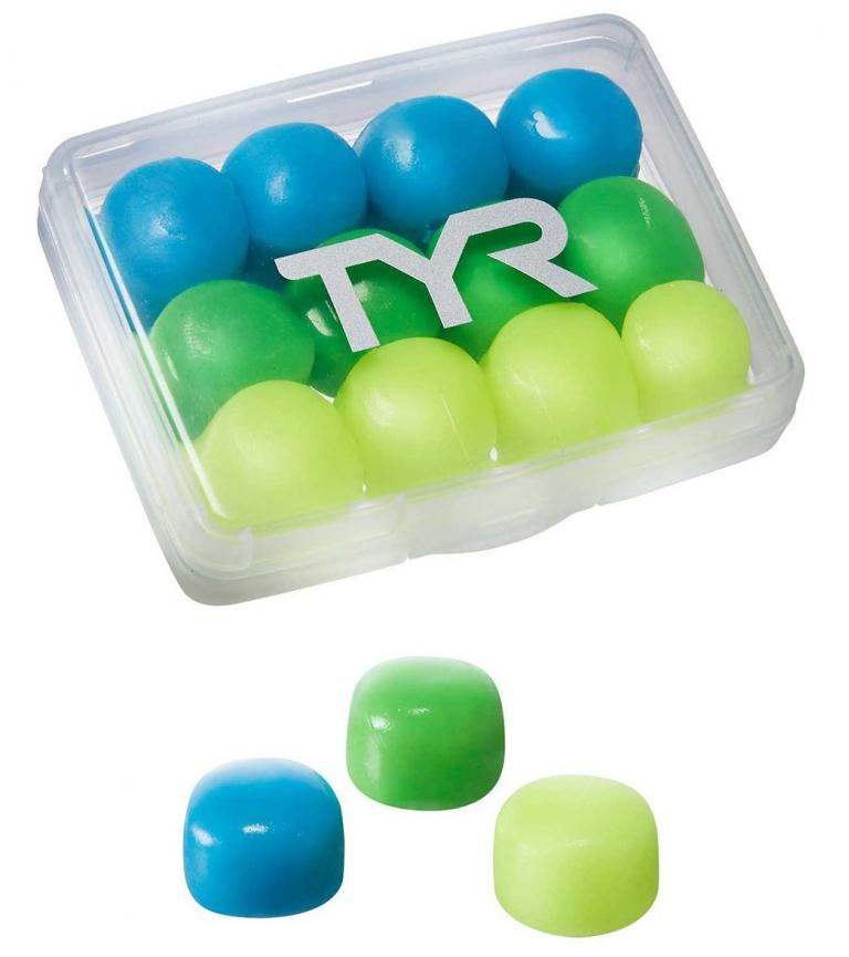 Беруши для бассейна детские TYR Kids Soft Silicone Ear Plugs
