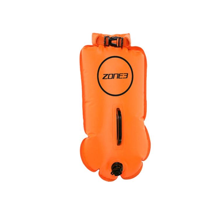 Буй безопасности с карманом для плавания на открытой воде ZONE3 Buoy Dry Bag (28 л)