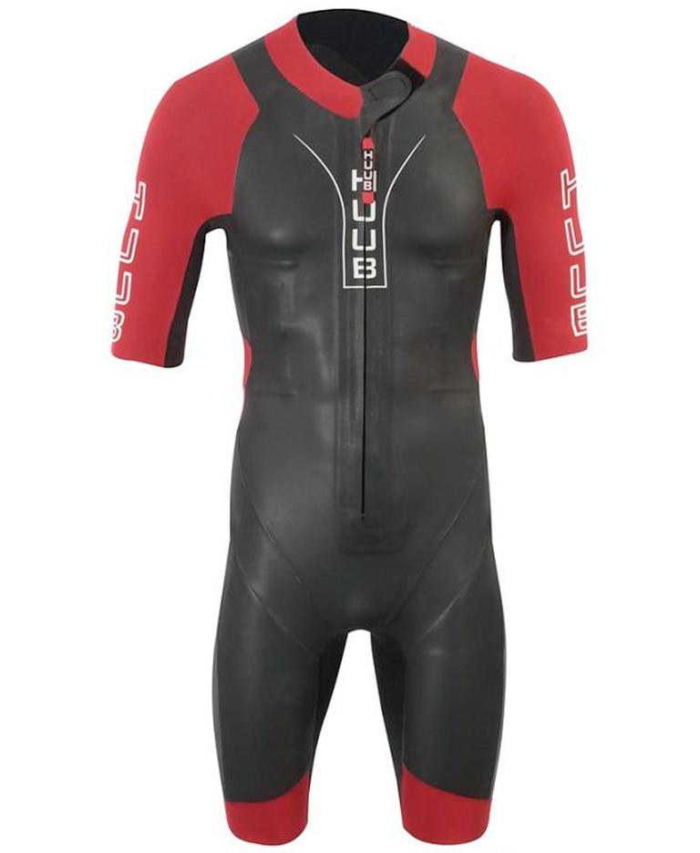 Гидрокостюм для свимрана мужской короткий (свимскин) HUUB Auron Swimrun Wetsuit, 3/5 мм
