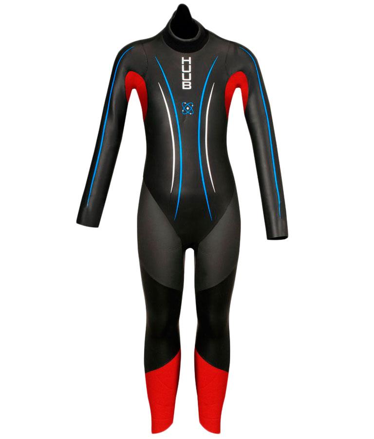 Гидрокостюм для триатлона детский HUUB Atom Wetsuit Junior 3/4 мм