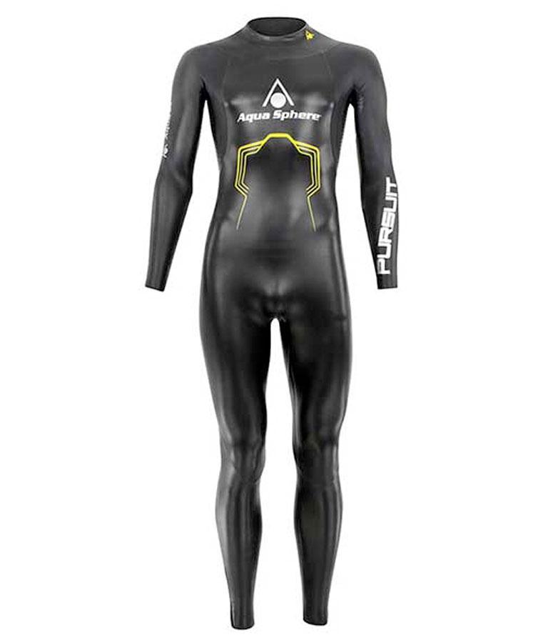Гидрокостюм для триатлона мужской Aqua Sphere Pursuit 2016 Black, 5 мм