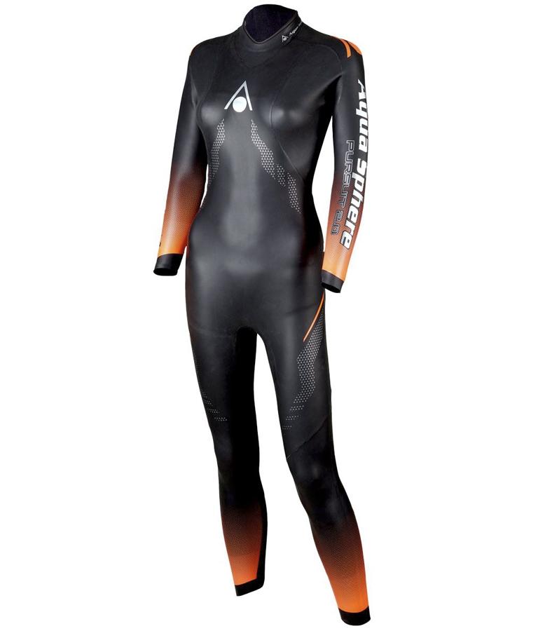 Гидрокостюм для триатлона женский Aqua Sphere Pursuit 2.0 Wetsuit, 4/3.5/3/2 мм