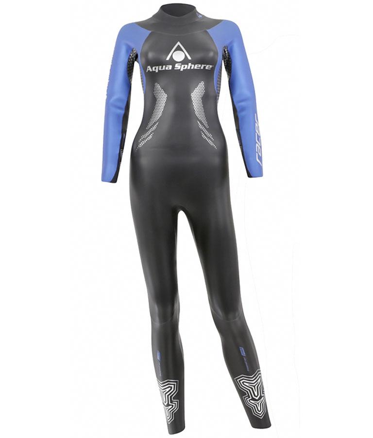 Гидрокостюм для триатлона женский Aqua Sphere Racer 2016, 5/2 мм