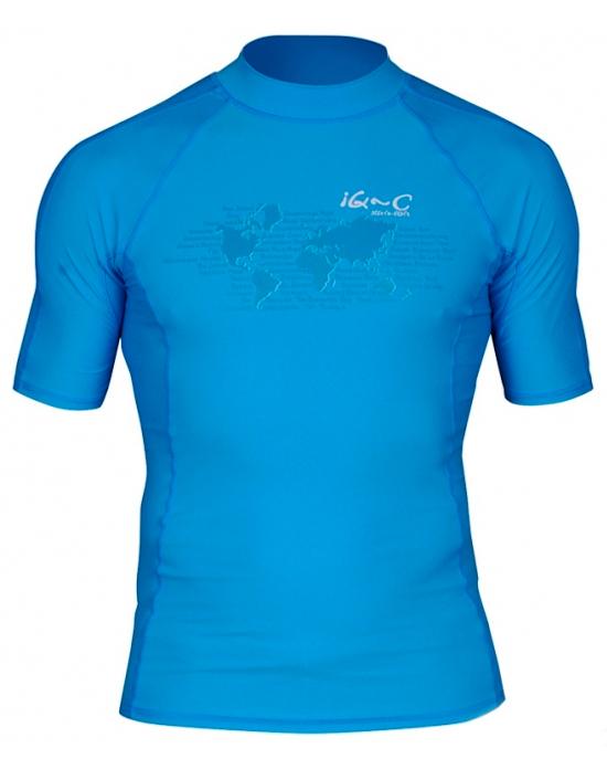 Гидромайка для плавания мужская iQ UV 300+ Watersport