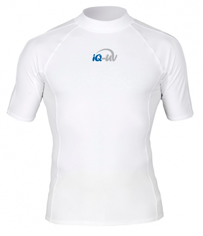 Гидромайка для плавания мужская iQ UV 300+ White