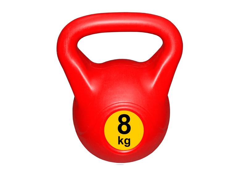 Гиря с пластиковым покрытием Streda Home 8 кг (1 шт) Red