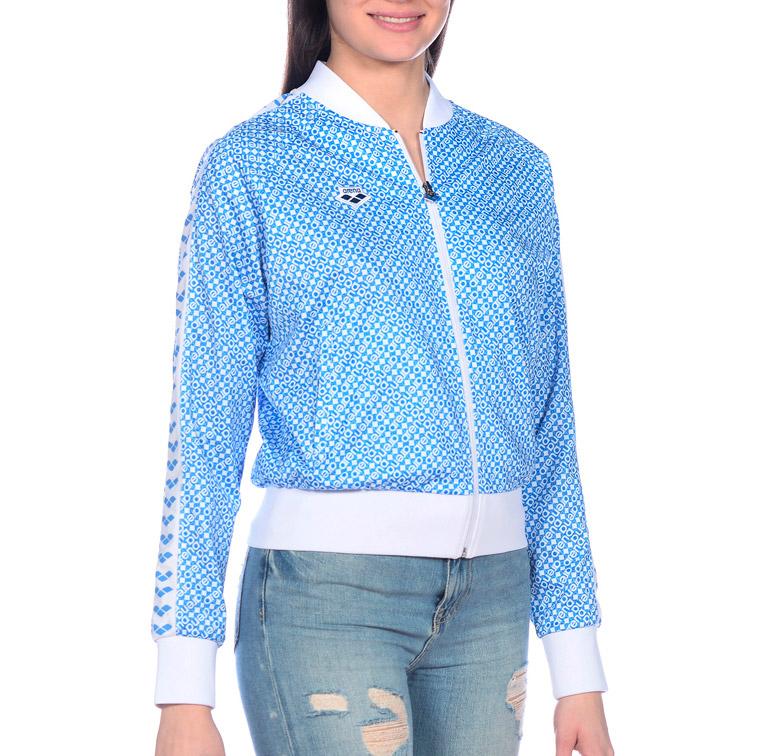 Кофта с длинным рукавом женская Arena Icons Diamonds Relax Team Jacket