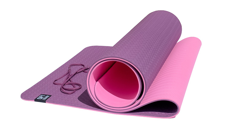 Коврик для йоги двуслойный OFT 183 х 61 х 0,6 см