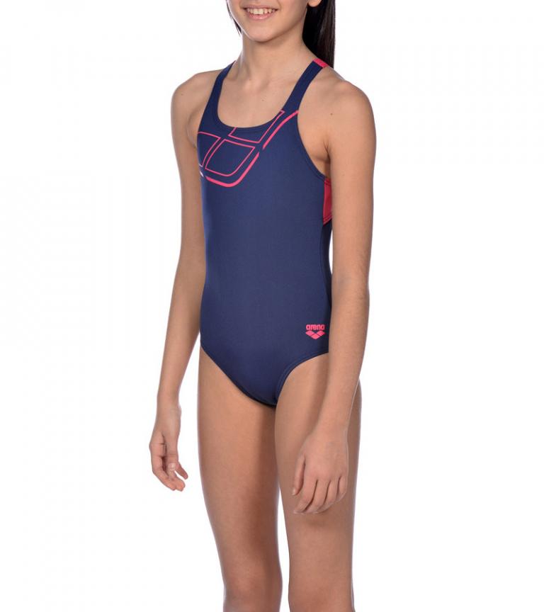 Купальник слитный детский Arena Essentials Junior Swim Pro Back