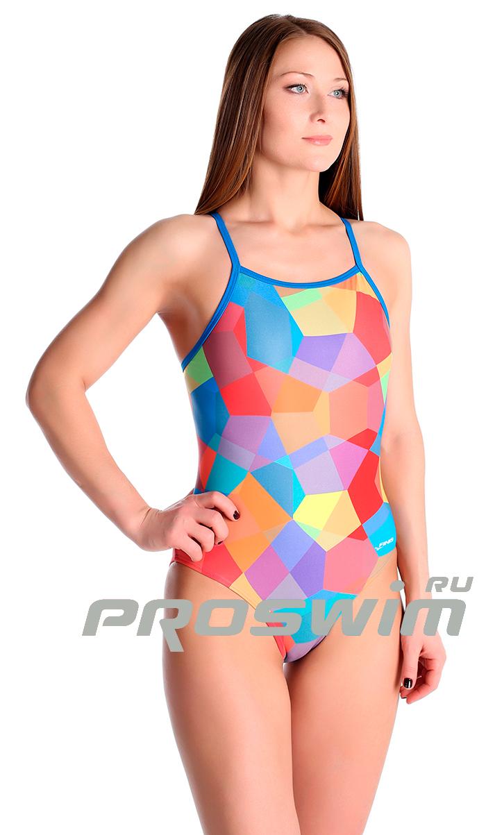 18f749a65eb8c Купальник слитный Finis Puzzle: купить по цене 990 руб в интернет ...