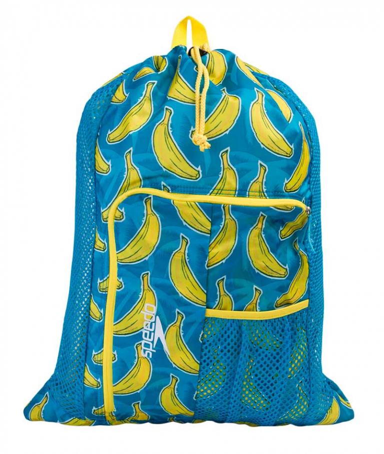 Мешок для аксессуаров Speedo Deluxe Ventilator Mesh Bag Banana - D878 (33 л)