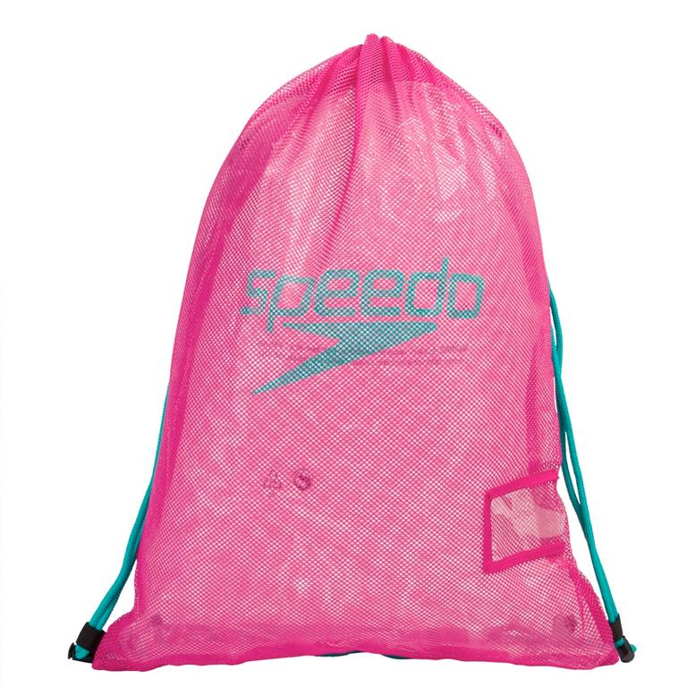 Мешок для аксессуаров Speedo Mesh Bag Pink - D713 (35 л)