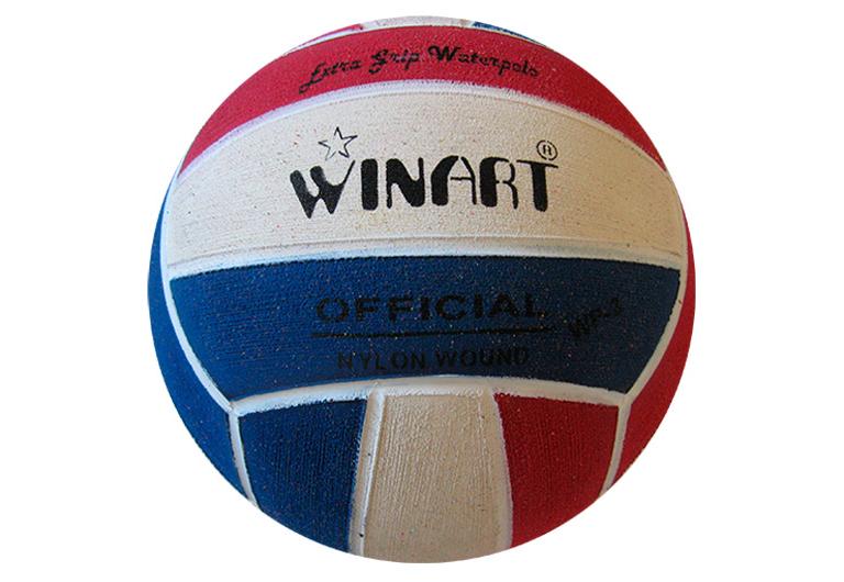 Мяч для водного поло Winart Stripped Red (размер 3)