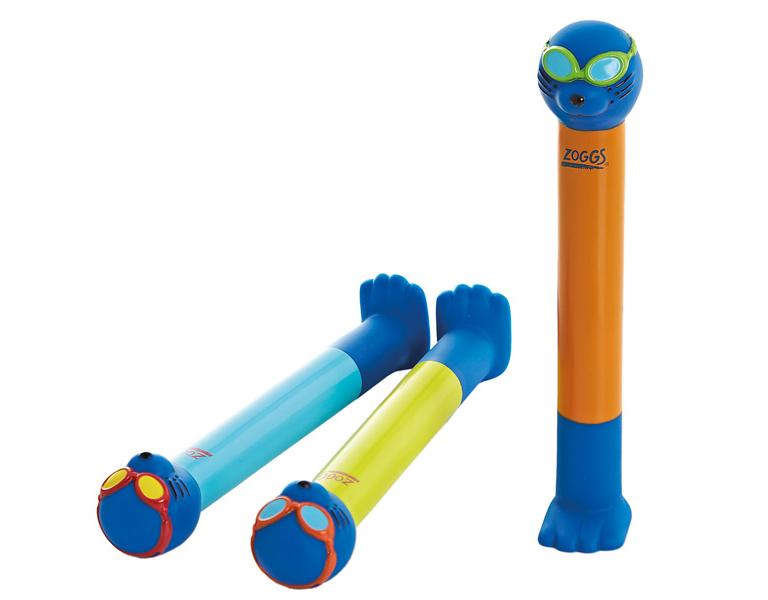 Набор для обучения детей плаванию ZOGGS Dive Sticks