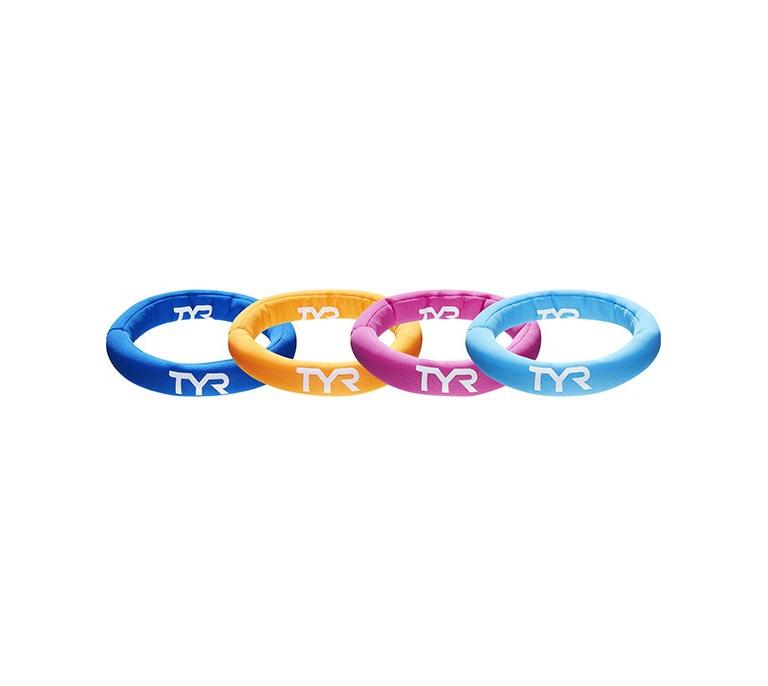 Набор колец для обучения детей плаванию TYR Dive Rings (от 6 лет)