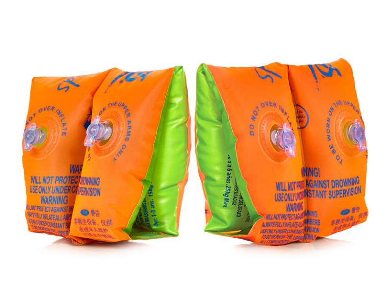 Нарукавники детские ZOGGS Float Bands Orange/Green - 1201 (0-1 год)