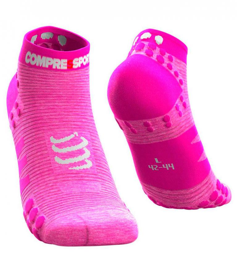 Носки компрессионные Compressport  V3 RUN, низкие