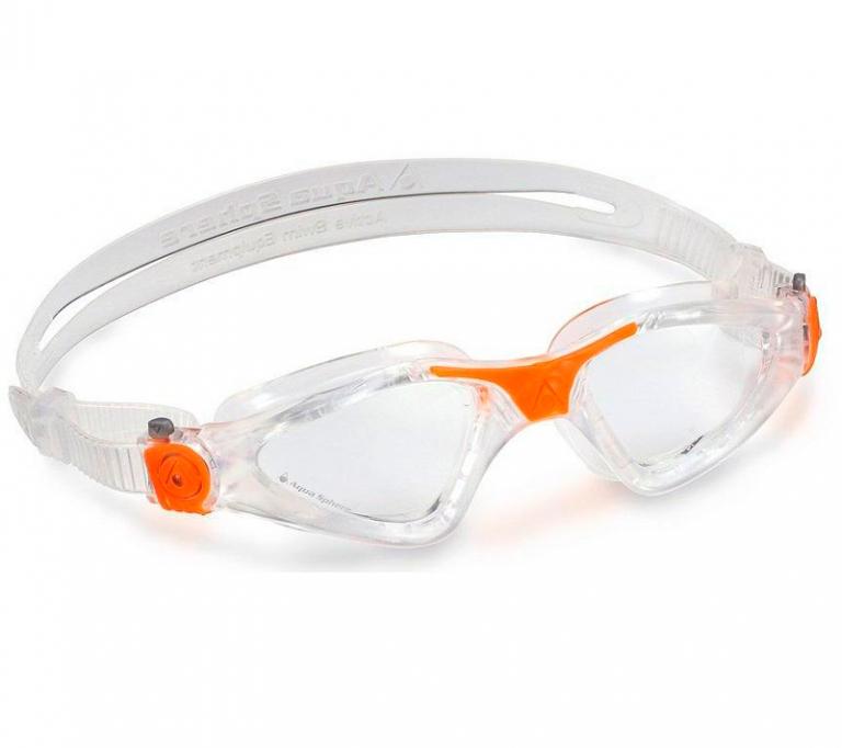 Очки для плавания Aqua Sphere Kayenne, clear/orange