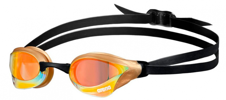 Очки для плавания Arena Cobra Core Swipe Mirror Gold - 330