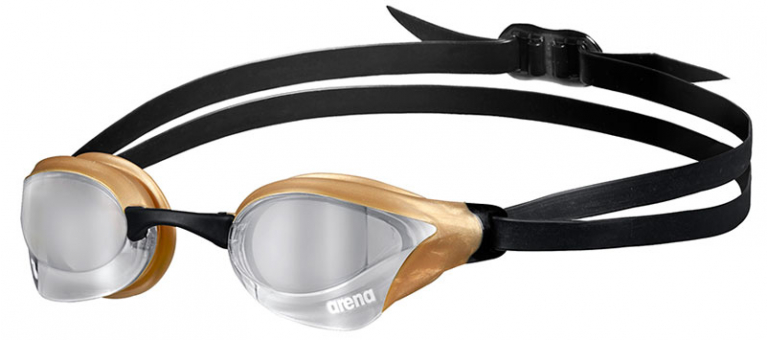 Очки для плавания Arena Cobra Core Swipe Mirror Gold/Silver - 530