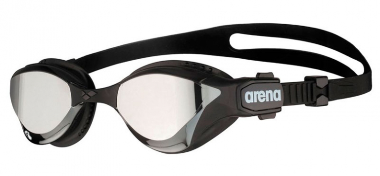 Очки для плавания Arena Cobra Tri Swipe Mirror Black/Silver - 555