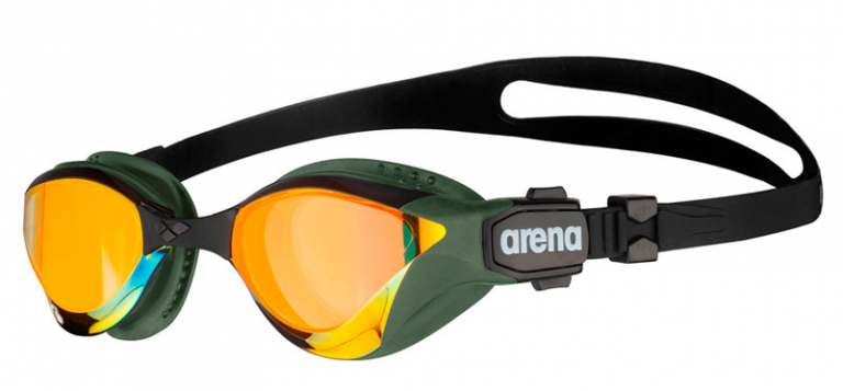 Очки для плавания Arena Cobra Tri Swipe Mirror Gold/Khaki - 360