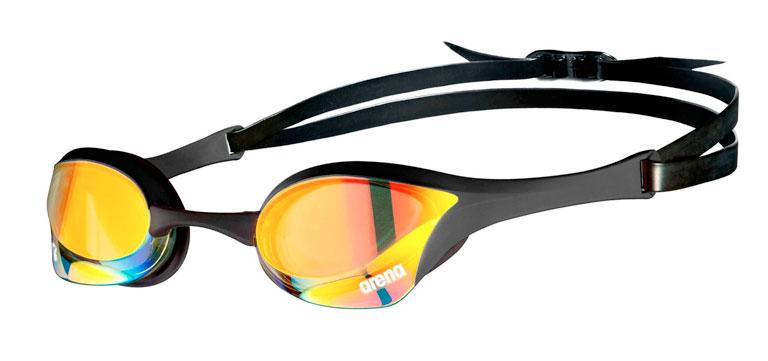 Очки для плавания Arena Cobra Ultra Swipe Mirror Black Gold-350