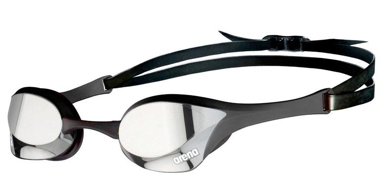 Очки для плавания Arena Cobra Ultra Swipe Mirror Black Silver-550