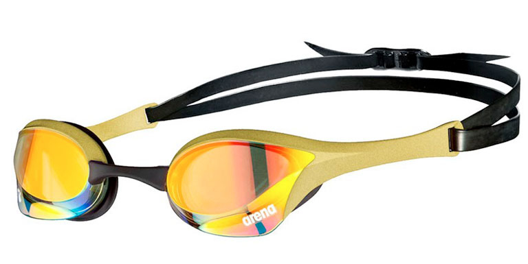 Очки для плавания Arena Cobra Ultra Swipe Mirror Gold
