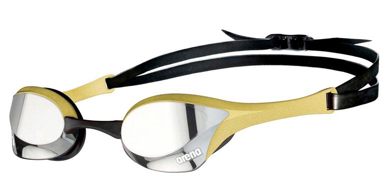 Очки для плавания Arena Cobra Ultra Swipe Mirror Gold Silver-530
