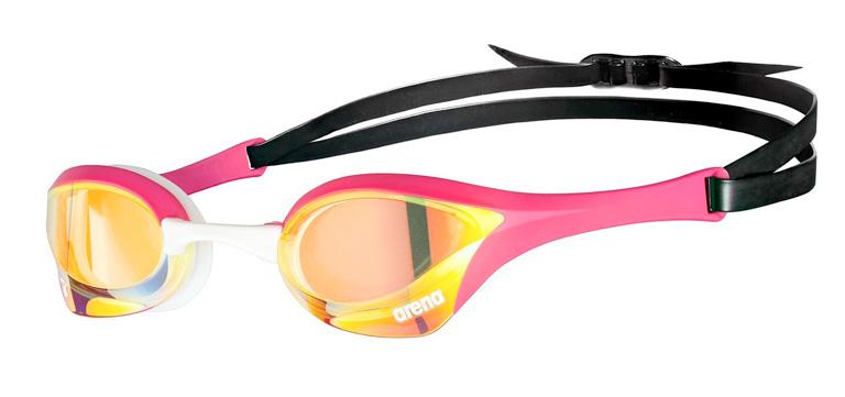 Очки для плавания Arena Cobra Ultra Swipe Mirror Pink-390