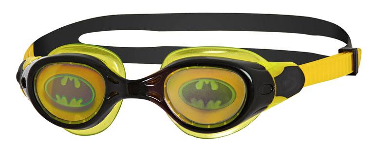 Очки для плавания детские радужные с рисунком ZOGGS Super Heroes Batman Hologram (6-14 лет)