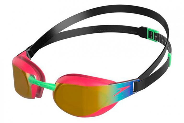 Очки для плавания детские Speedo Fastskin 3 Elite Mirror Junior Pink - D650 (6-14 лет)