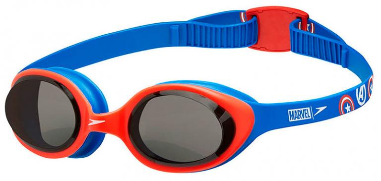 Очки для плавания детские Speedo Illusion Junior Marvel Captain America (6-14 лет)