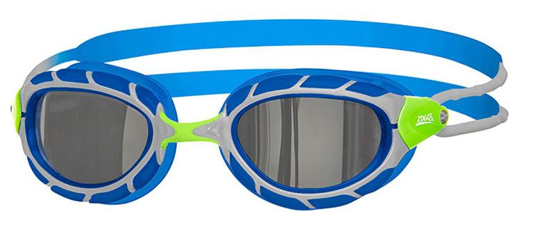 Очки для плавания детские ZOGGS Predator Junior Mirror SS19 (6-14 лет)