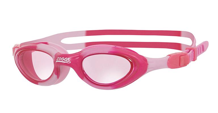 Очки для плавания детские ZOGGS Super Seal Junior (6-14 лет) Pink