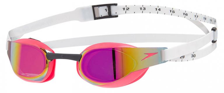 Очки для плавания Speedo Fastskin Elite Mirror Pink - C908