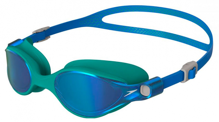 Очки для плавания женские Speedo Virtue Mirror Female Blue - D636