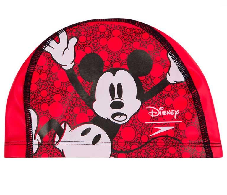 Шапочка для плавания детская Speedo Disney Mickey Mouse Junior Pace Cap (6-12 лет)
