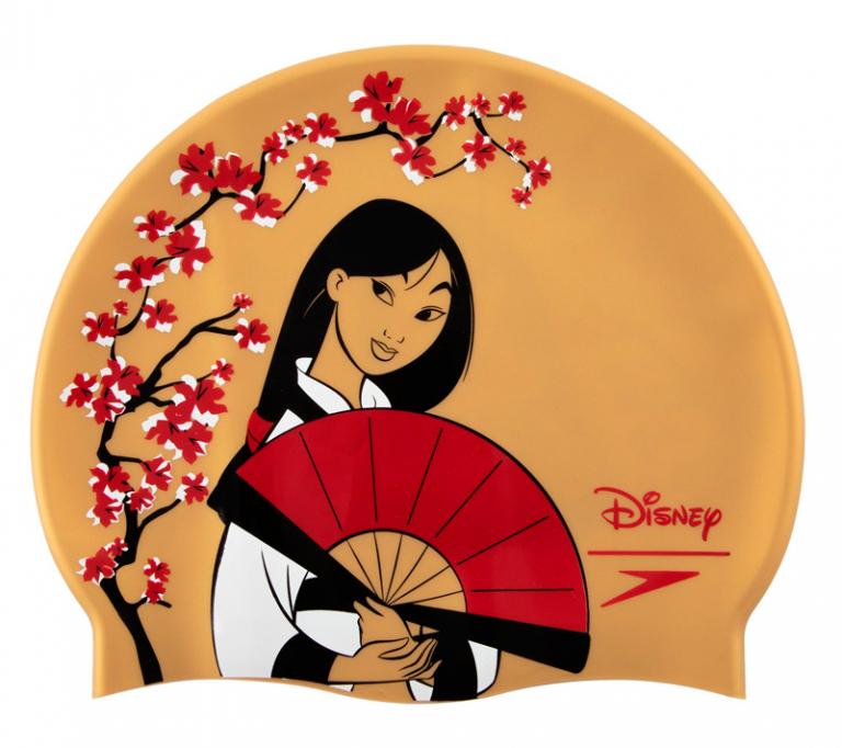 Шапочка для плавания детская Speedo Disney Print Cap Mulan