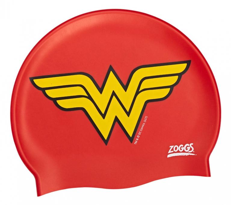 Шапочка для плавания детская ZOGGS Wonder Woman Silicone Cap (6-14 лет)
