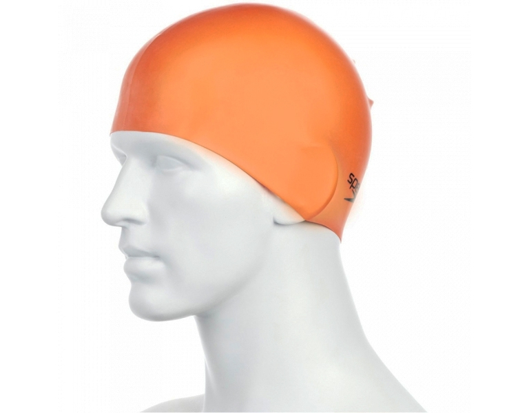 Шапочка для плавания Speedo Plain Moulded Silicone Cap AW18