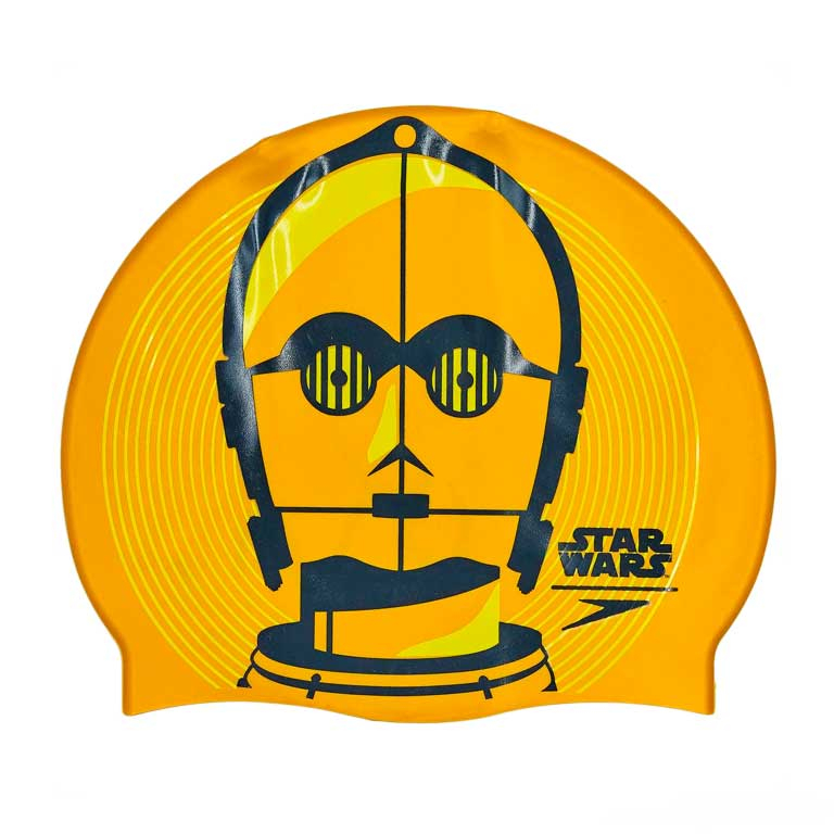 Шапочка для плавания Speedo Slogan Print Cap C-3PO Star Wars