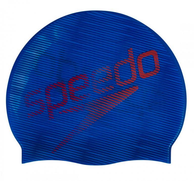 Шапочка для плавания Speedo Slogan Print Cap Navy Blue - D683