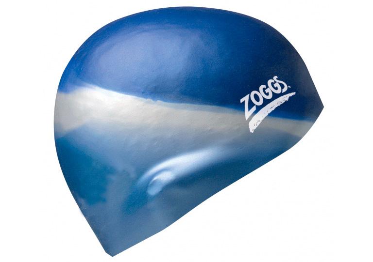 Шапочка для плавания Zoggs Multi Colour Silicone Cap